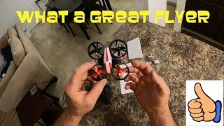 Holy Stone HS210 UNBOX and Indoor Flight It's Great