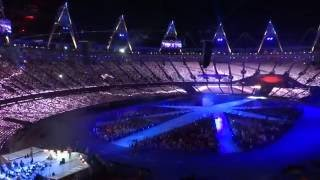 ED SHEERAN - Wish You Where Here @ London 2012 closing ceremony