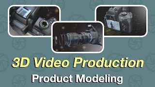 DSLR Camera Product Modeling Video Production 3D Rendering from Zco
