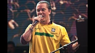 <b>Mike Patton</b> Reacts To Stone Sour • Rock In Rio 2011