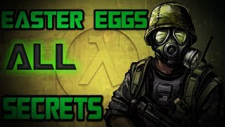 [Half-Life: Opposing Force] - ВСЕ Пасхалки, Секреты и Баги |#1| (All Secrets, Easter Eggs, Bugs)