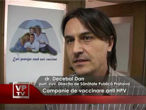 Campanie de vaccinare anti HPV