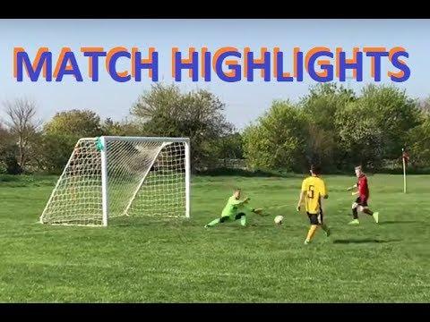 Football Match Goalie Video | Under 9's Goalkeeping Highlights from today's Soccer Match