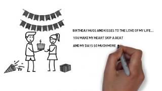 jasa pembuatan video undangan, ulang tahun, aniversary dll menggunakan animasi sparkol. cocok untuk di share di medsos