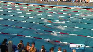 Andrew Seliskar Hangs On For 200m Free Title | Summer Champions Series