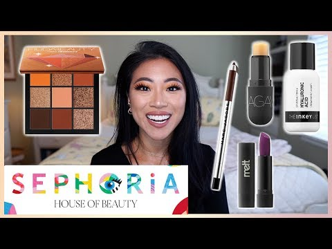 Warm Makeup Look using my SEPHORiA Swag Bag Goodies! | Christine Le