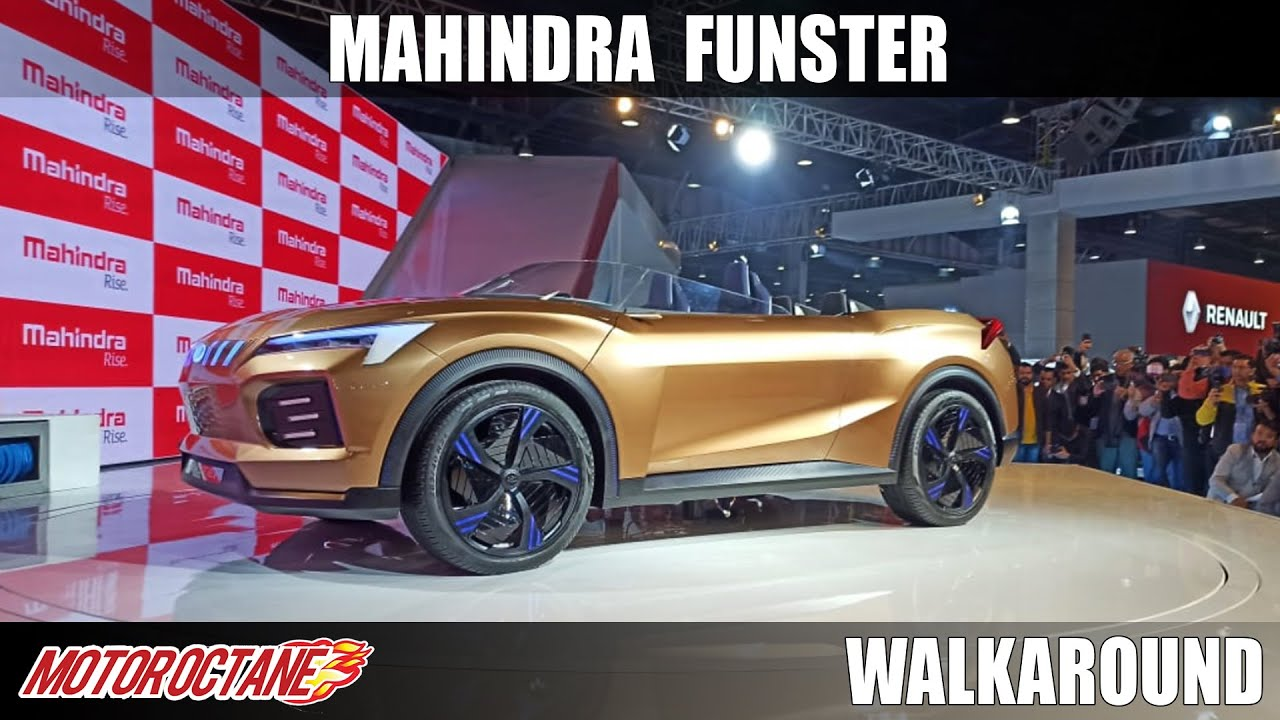 Motoroctane Youtube Video - Mahindra Funster - Convertible SUV ? | Auto Expo 2020 | Hindi | Motoroctane