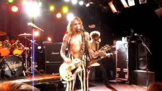 The Darkness Live in Boston - Living Each Day Blind (FIRST EVER LIVE PERFORMANCE) @ Paradise