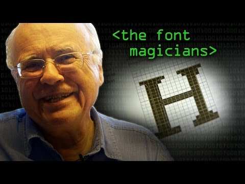 How Two Men Made Low-Res Fonts Look Good Forever