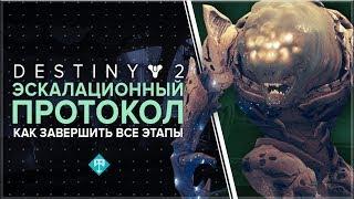 Destiny 2. Как пройти все этапы Эскалационного Протокола.