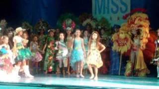 FLÁVIA MIRELLA no Miss Brasil infantil 2009