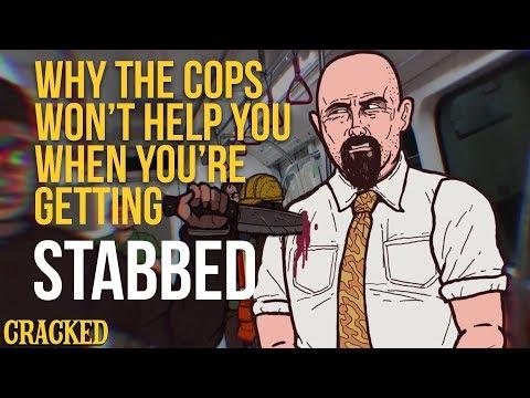 Policie vám při útoku nepomůže