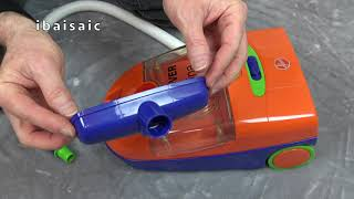 Hoover Alpina Toy Vacuum Cleaner By Theo Klein Unboxing & Demonstration