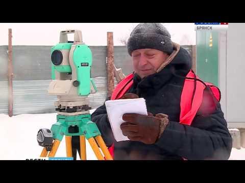 В Брянске уничтожают геодезические знаки