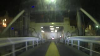 新日本海フェリーハマナスに乗船