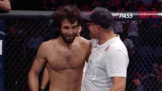 Все финиши нибаром в истории UFC