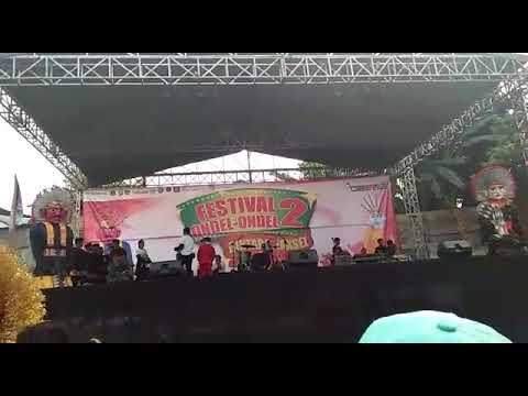 Juara 3 Festival Ondel Ondel Bintaro Sektor Sanggar Seni Budaya Rifky Albani!