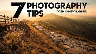 7 SIMPLE photography TIPS I wish I knew EARLIER