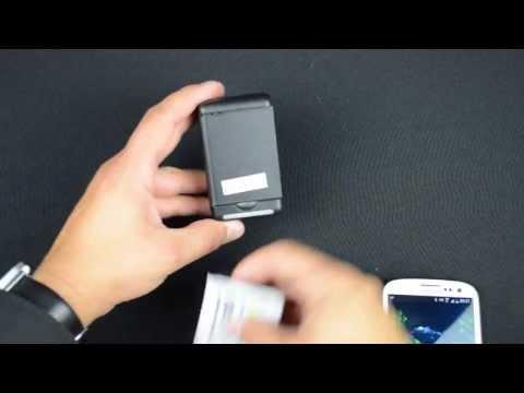Externes Akku-Ladegerät für das Samsung Galaxy S3 und S4
