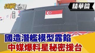 【挑戰精華】國造潛艦模型露餡 中媒爆料星秘密援台