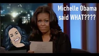 Things Michelle Obama said on Jimmy Kimmel Reaction
