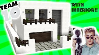 Minecraft Tutorial: **UPDATED** How to Build the Team 10 House!!!