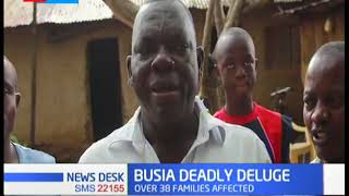 Residents in Busia count losses as rain sweeps houses