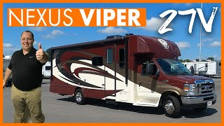 Medium Sized Motorhome with Movie Theater Seats!