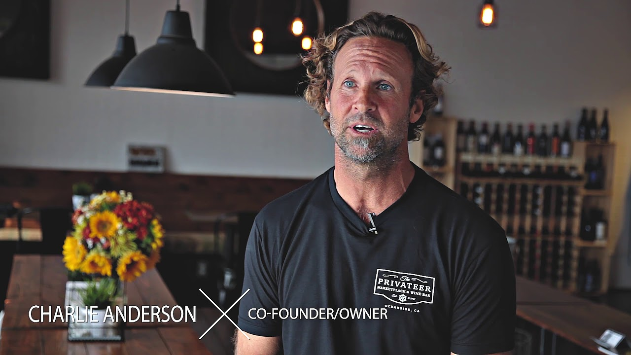 The Privateer Coal Fire Pizza and Marketplace Wine Bar in Oceanside, CA