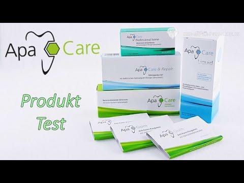 ApaCare Produkt Vorstellung/ApaCare Zahnpflegesystem mit flüssigem Zahnschmelz/Hydroxylapatit
