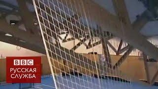 В Чехии во время матча обрушилась крыша спортзала