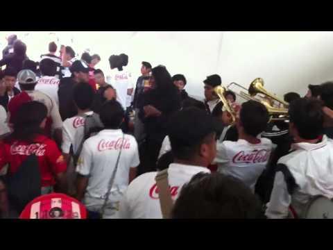 """Placero Puto Te Saluda Tu Papa"" Barra: Muerte Blanca • Club: LDU"