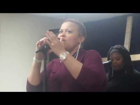 Calandra singing - I Surrender at the Neo PraiseTour