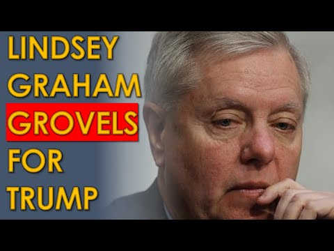 Lindsey Graham GROVELS to Trump in PATHETIC Fox News Interview; Blames Pelosi for Capitol