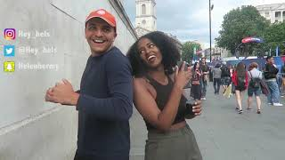 People In London Dancing To Habesha Music | ሀበሻ ዳንስ (PART 2) | Helen Haile