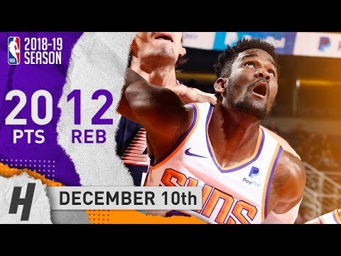Deandre Ayton Full Highlights Suns vs Clippers 2018.12.10 - 20 Points, 12 Reb