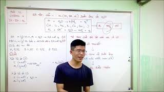 Hóa học 12. Chủ đề kim loại kiềm - kiềm thổ
