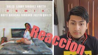 DALEX   BELLAQUITA(REMIX) FT. LENNY TAVÁREZ, ANITTA, NATTI NATASHA, FARRUKO, JUSTIN QUILES  REACCION