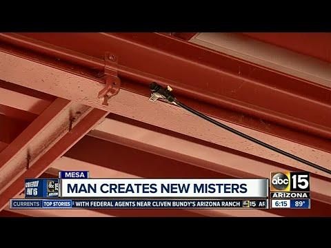 Mesa man creates portable misters