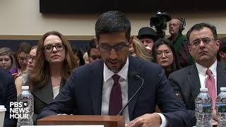 WATCH: Google CEO Sundar Pichai gives his opening statement to the House Judiciary Committee