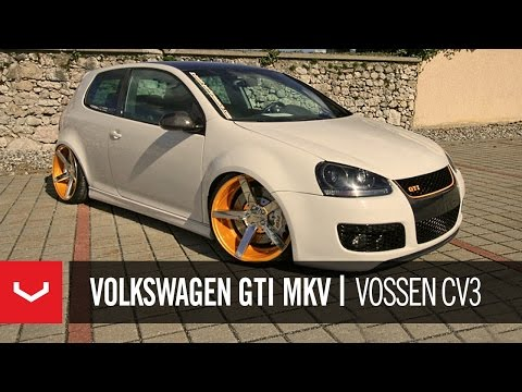 Volkswagen GTI MKV Riding on 20″ Concave Rims
