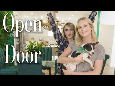 Inside Cara and Poppy Delevingne's Jungle-Themed Home | Open Door | Architectural Digest