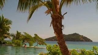 preview picture of video 'Likuliku Lagoon Resort - Pool area'