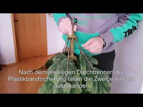 Künstlicher Weihnachtsbaum - ALDI-Nord 2017 - Living Art 633