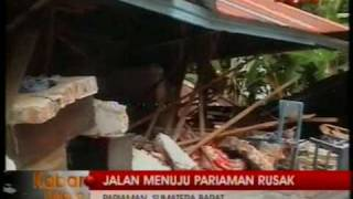 Pariaman Pasca Gempa Padang 30 September 2009