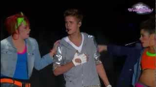 Justin Bieber - As Long As You Love Me (En El Zocalo De México Oficial HD)