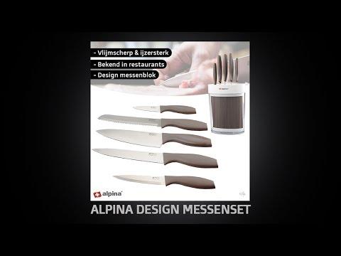 Wilpe - Alpina Design Messenset