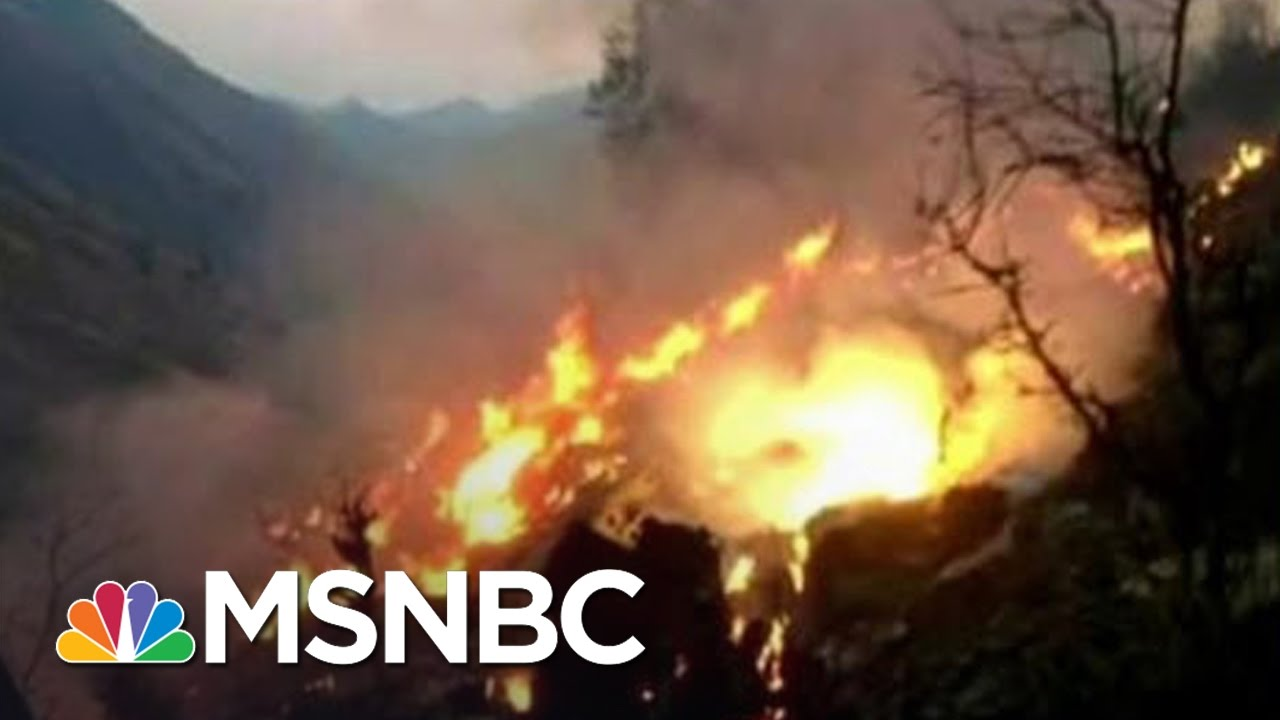 Plane Carrying Dozens Crashed In Pakistan | MSNBC thumbnail