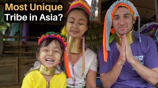 Most Unique Tribe in Asia? (LONG NECKS)