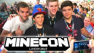 Minecon with The Pack VLOG! + Arcadiacon & WIN A MINECON CAPE!